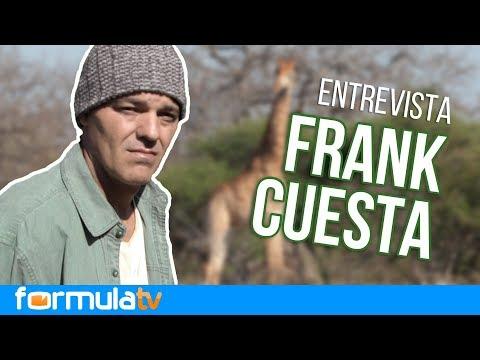 Frank Cuesta expresa lo duro que fue el rodaje de 'Wild Frank: Cazadores'