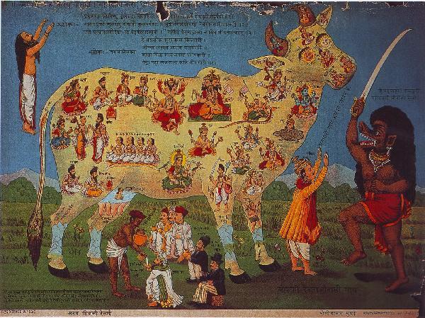 El hinduismo rechaza el sacrificio de animales