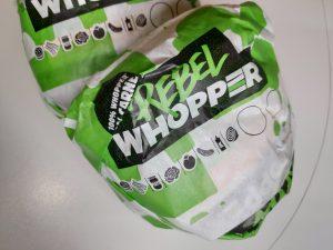 Rebel Whopper, la burguer woper