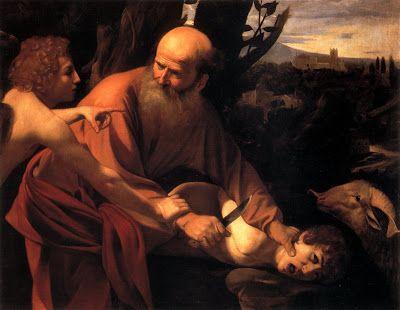 Abraham quiere asesinar a su hijo