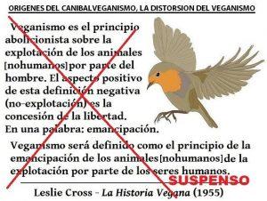 Definición de veganismo manipulada