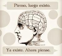 Descartes: Pienso, luego existo