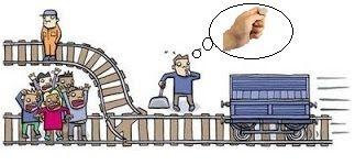 Dilema del tranvía y azar