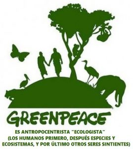 Greenpeace es pseudoecologismo