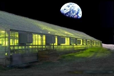 Equilibrio en una Moon Greenhouse