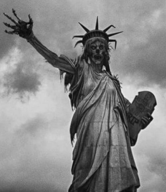 Estatua de la libertad representa el mal