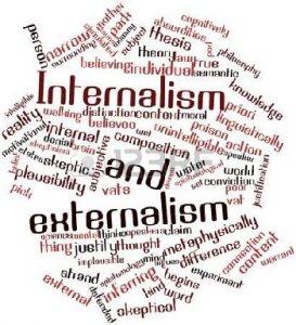 Internalismo y externalismo