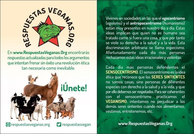 Folleto general de Respuestas Veganas