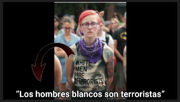 Todos los hombres blancos son terroristas