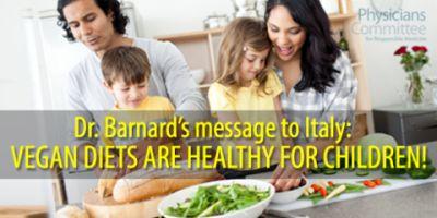 Italy vegan kids