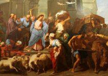 Jesús expulsó a los mercaderes del temploes-lyno-francia
