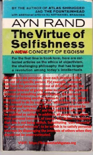 """Libro """"La virtud del egoismo"""" de Ayn Rand"""