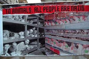Holocausto humano y de gallinas