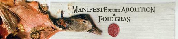 Manifiesto por la abolició ndel foie gras