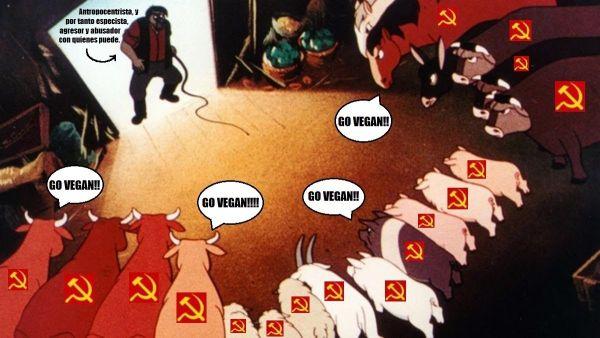 Rebelión marxista en la granja