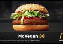 McVegan, la hamburguesa vegana de McDonalds