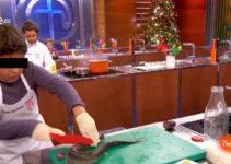 Menor mata anguila en Master Chef