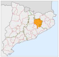 Comarca de Osona, en Cataluña
