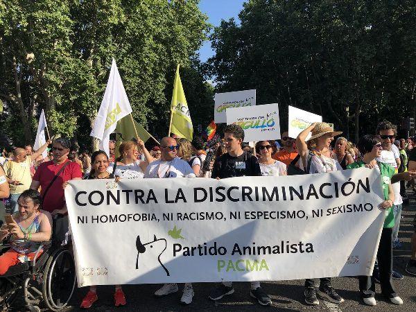 PACMA contra toda discriminación y violencia