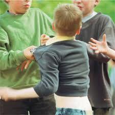 Pelea de niños, sin agente
