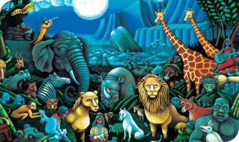 Mundo ideal sin depredación