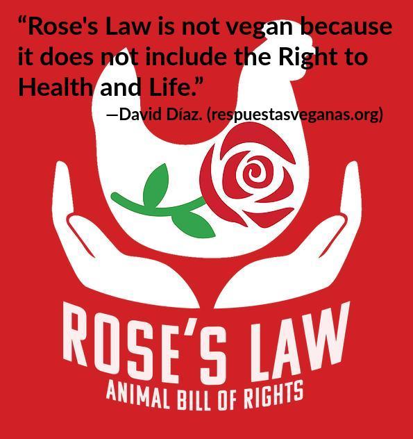 La Roses Law no es vegana