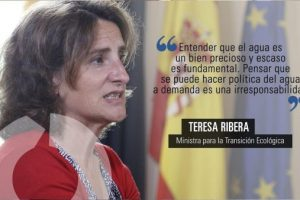Teresa Ribera condena la tauromaquia