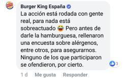 Burger King responde sobre el rodaje de La Toma de Ávila