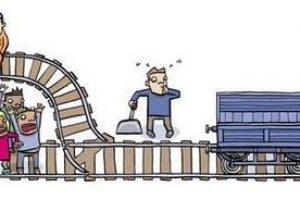 Dilema del tranvía y mal menor