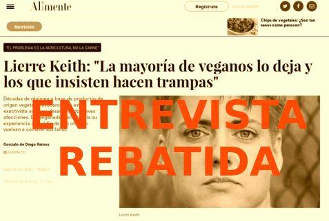 Respuesta A Lierre Keith Por La Entrevista La Mayoría De Veganos Lo Deja Y Los Que Insisten Hacen Trampas Respuestas Veganas