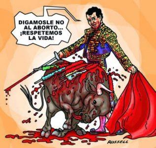 "Torero ""provida"""