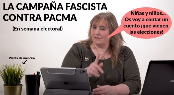 ¿Escandalo PACMA? Campaña fascista contra PACMA